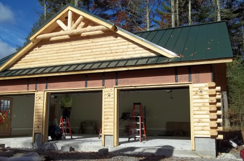 Log and specialty siding