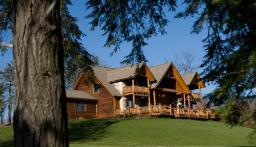 Bass Timber Frame Home