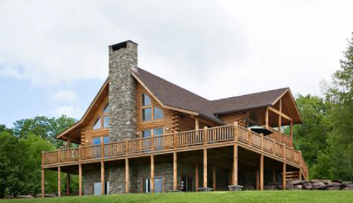 Lee Log Home