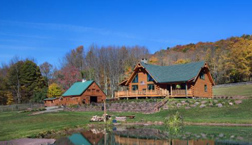 Mountainview Log Home