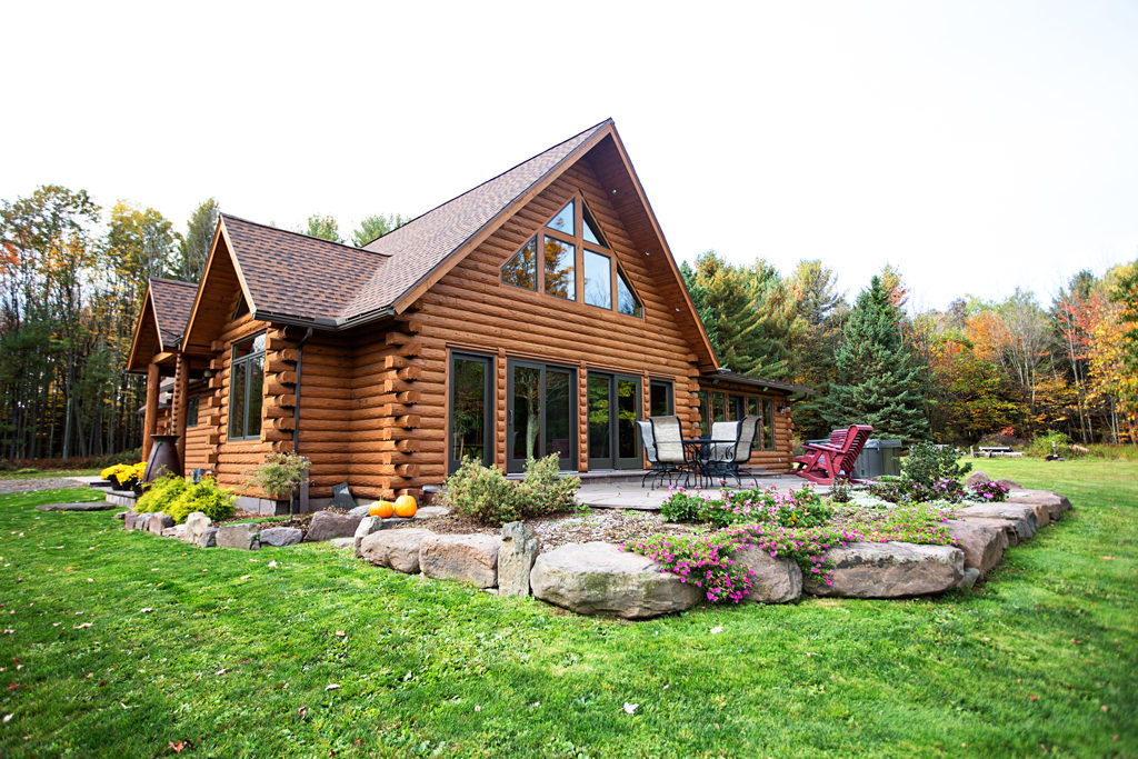 Lost Acres Log Home Makeover Beaver Mountain
