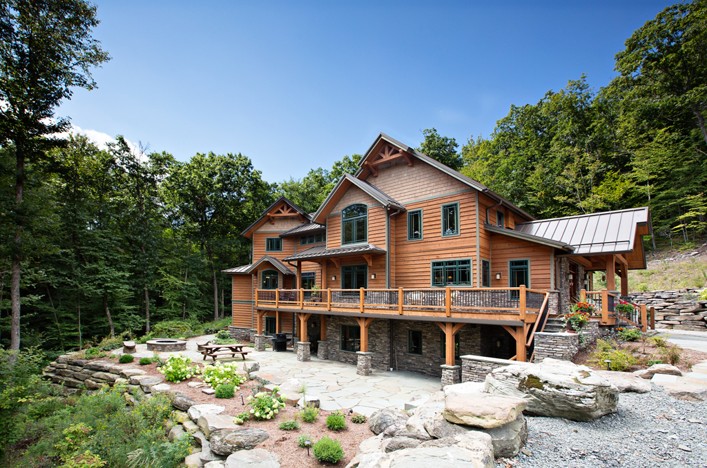 The Gerald Custom Timber Home