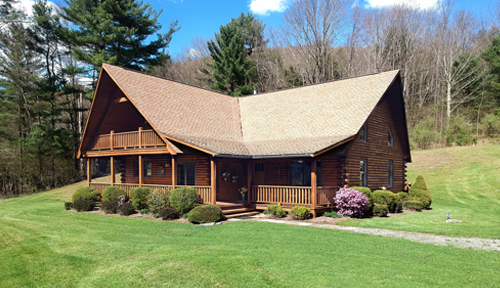 Classic Lodge Model Log Home