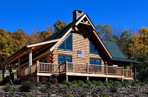 Beaver Mountain Log Home Photo Gallery