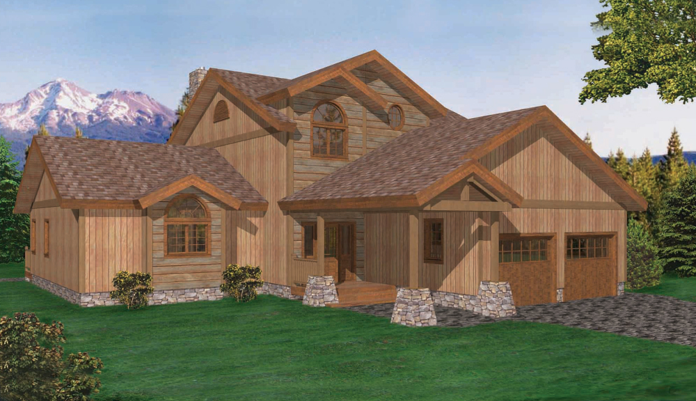 Bellayre Timber Home Classic Floor Plan