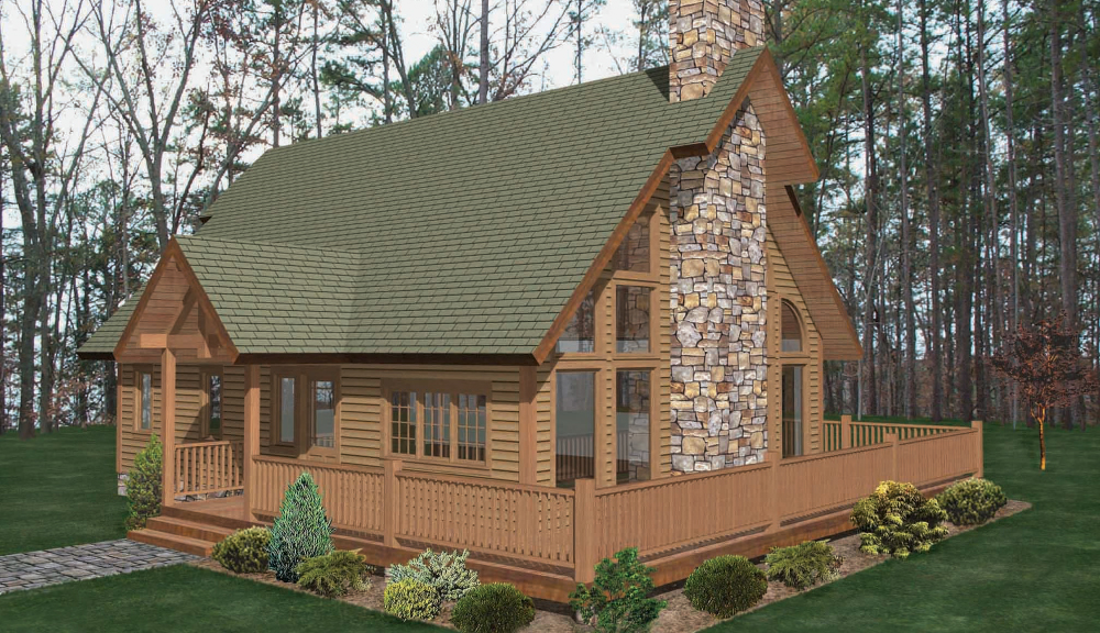 Coxsackie Timber Home Classic Floor Plan
