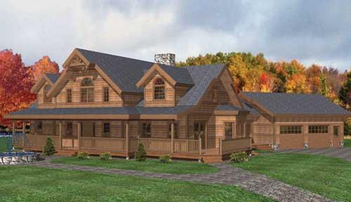 Mount Vernon Timber Home Classic Floor Plan