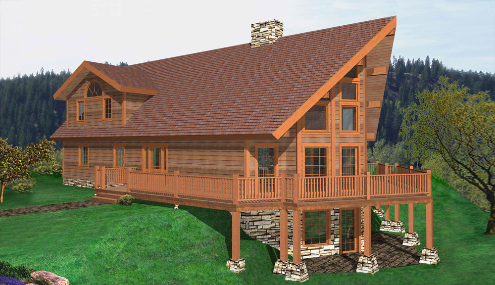 Tupper Lake Timber Classic Floor Plan
